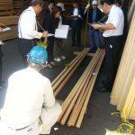 平成27年10月1日は 全国優良木材展示会でした