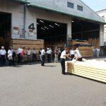 9/1は 東京木材市場問屋組合設立54周年 記念市でした。